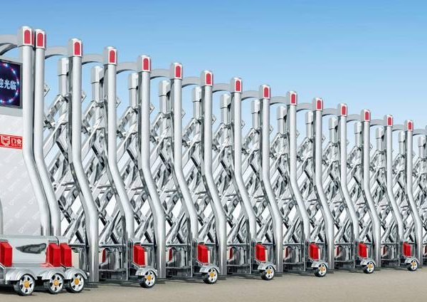 Stainless Steel Rectractable Gate